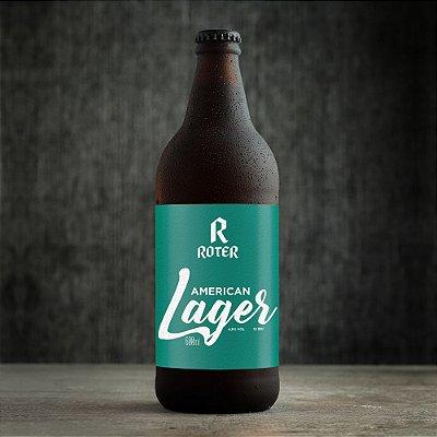 Roter American Lager (600ml) - Caixa com 6 Garrafas