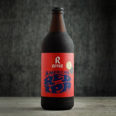 Roter American Red IPA (600ml) - Caixa com 6 Garrafas