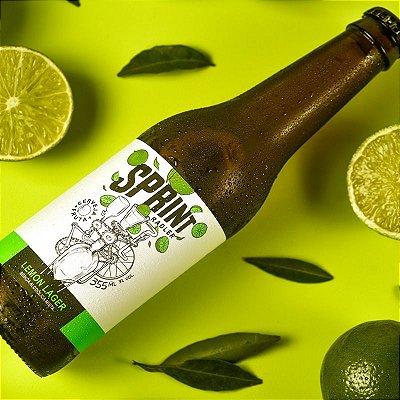 Sprint Lemon Lager (355 ml) - Caixa com 12 garrafas