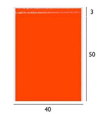 Envelope de Segurança Laranja 40x50