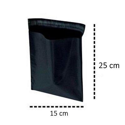Envelope de Segurança para Correios Black 15x25
