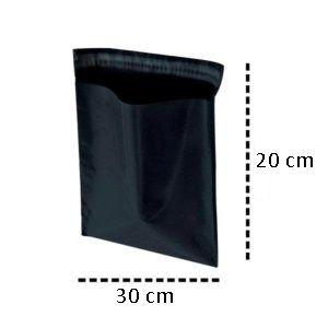 Envelope de Segurança para Correios Black 30x20