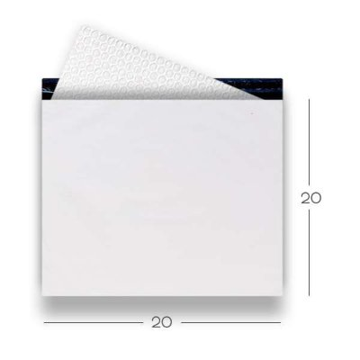 Envelope de Segurança com Plástico Bolha 20x20
