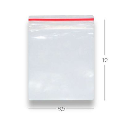 Saco Zip Lock 8.5 x 12 – N4