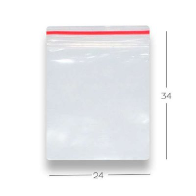Saco Zip - N10 -  24 x 34