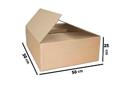 Caixa de Papelão Maleta Onda B Simples - N5 - 50 x 30 x 25