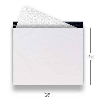 Envelope de segurança com plástico bolha - 26x36
