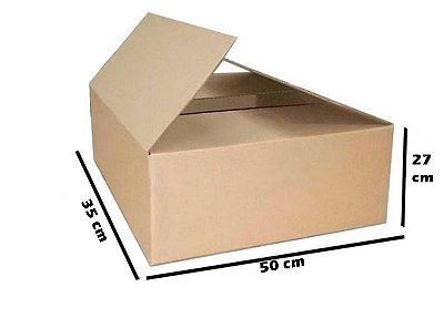 Caixa de Papelão Maleta Reforçada - N11 - 50 x 35 x 27