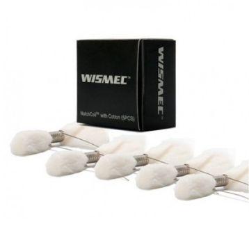 Resistência c/ algodão - NotchCoil - Wismec