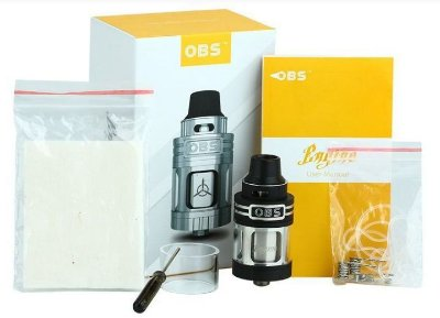 Atomizador Engine RTA - 3.5 ML - OBS
