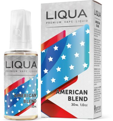 Líquido American Blend - LIQUA Elements