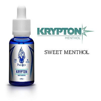 Líquido Krypton (Sweet Menthol) - White Series - Halo Cigs