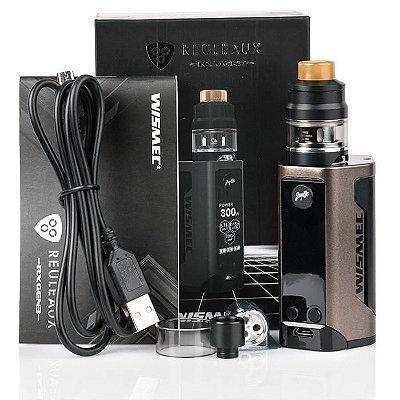 Kit Reuleaux RX GEN3 300W C/ Atomizador Gnome - Wismec