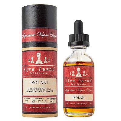 Líquido Isolani - (Biscoito de açúcar c/ Raspas de Limão) - Red - Five Pawns ®