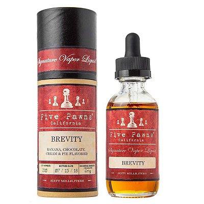 Líquido Brevity - (Bolo c/ Creme coberto c/ Chocolate e Bananas) - Red - Five Pawns ®