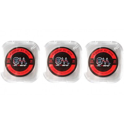 Fio Kanthal A1 Wire - 9 Metros - Coil Master