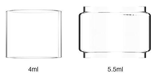Tubo de Vidro (Reposição) Zeus Dual 4ml/5.5ml - GeekVape