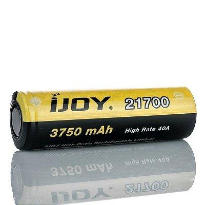 Bateria 21700 Li-ion 3750mAh High Drain 40A Flat Top - IJOY