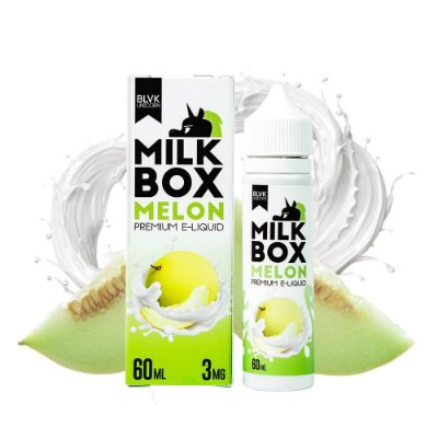 Líquido Melon - Milk Box - BLVK Unicorn