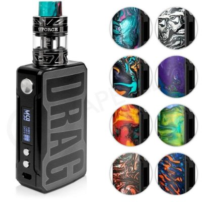 Kit Drag 2 177W TC c/ Atomizador UFORCE T2 - VOOPOO