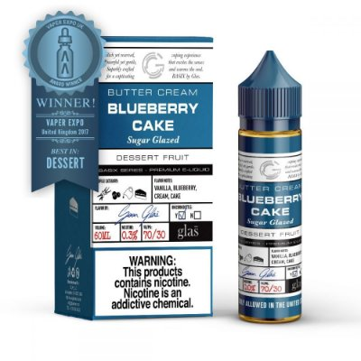 Líquido Blueberry Cake - Basix Series - GLAS