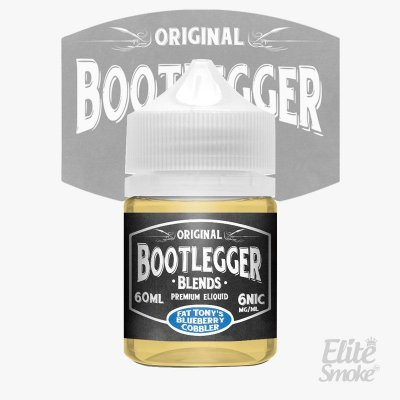 Líquido Fat Tony's Blueberry Cobbler - Blends - Bootlegger
