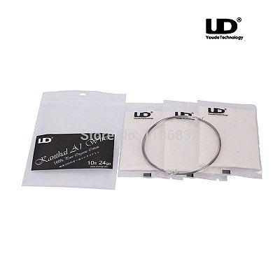 Kit Fio Kanthal A1 + Algodão Orgânico - UD Youde Technology
