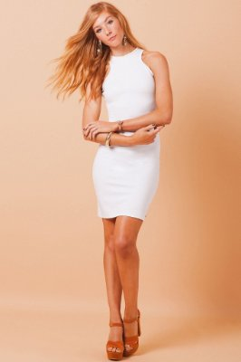 Vestido Catwalk - off white