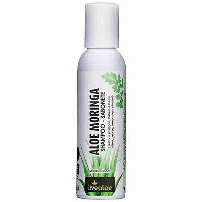 Shampoo - Sabonete vegano Aloe Moringa - Livealoe