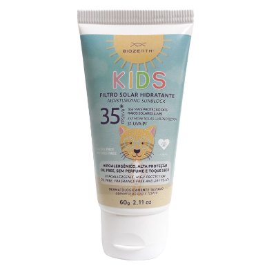 Protetor Solar Vegano Infantil FPS 35 - Biozenthi
