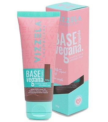 Base Líquida Vegana Matte - cor 17 - Vizzela
