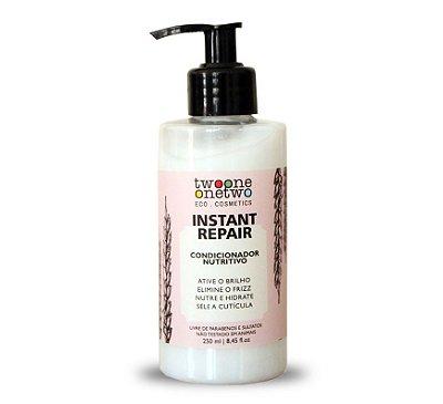 Condicionador Vegano Instant Repair - cabelo normal a seco - Twoone Onetwo