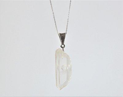 Difusor Pessoal de Pedra Natural Bruta - Cristal