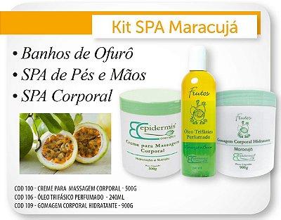 Kit Spa Gourmet de Maracujá