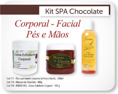 Kit Spa Gourmet de Chocolate