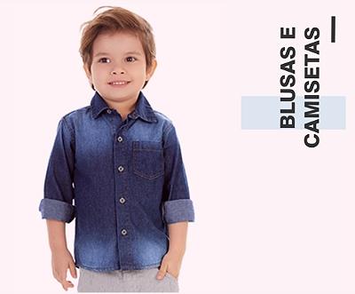 Blusas e Camisetas
