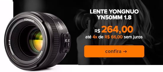 Lente Yongnuo YN50MM 1.8