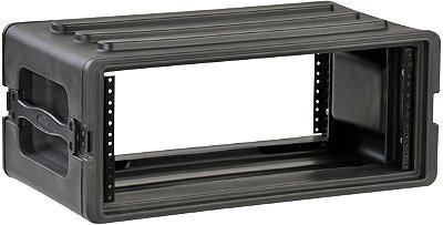 Rack Case SKB 4U com trilhos de aço