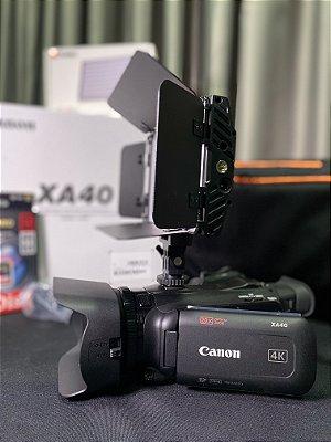 Kit Filmadora  Xa40  Especial Mês do Cliente