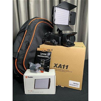 Kit Filmadora Xa11 Especial Mês do Cliente