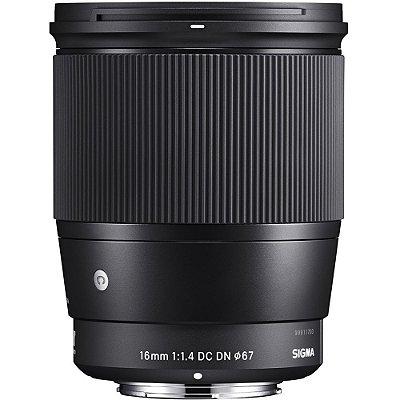 Lente Sigma Contemporary 16mm f/1.4 DC DN para Sony E