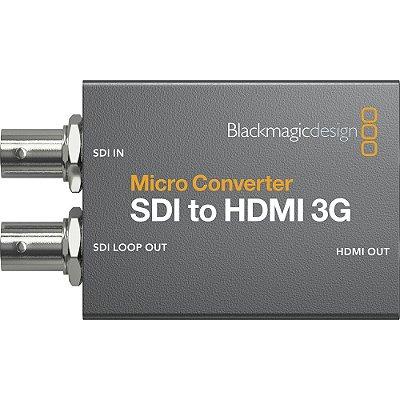 Micro Conversor SDI para HDMI com fonte