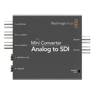 Mini conversor Blackmagic Design analógico para SDI
