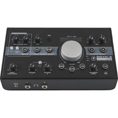Controlador e interface de monitor de estúdio Mackie Big Knob