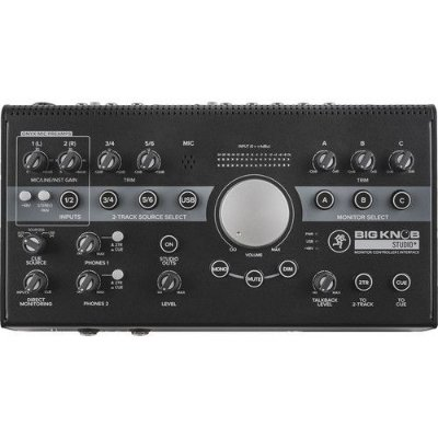 Controlador e interface de monitor Mackie Big Knob Studio Plus