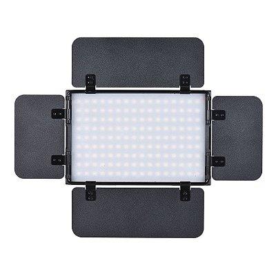 Kit Iluminação Led Tolifo PT15B PRO II com Tripé + Bateria