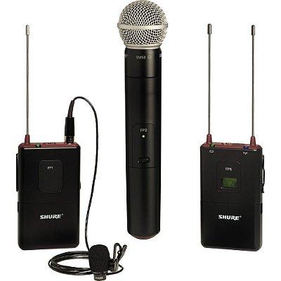 Kit microfone sem fio Shure FP125/83SM5 - garantia Shure