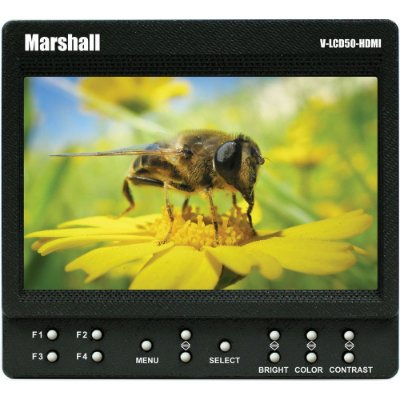 "Monitor Marshall Electronics 5"" V-LCD50-HDMI (semi-novo)"