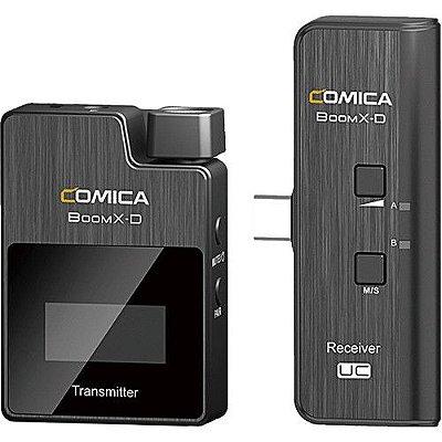 Sistema de microfone Comica Audio BoomX-D UC1