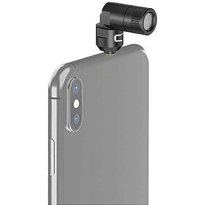 Mini Microfone Shutgun Comica CVM-VS07C para Smartphone